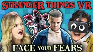 STRANGER THINGS VR | Face Your Fears (React: Gaming)