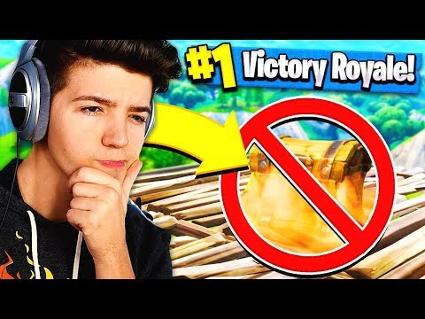NO CHEST CHALLENGE in Fortnite Battle Royale