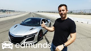2017 Acura NSX   Track Test: How Fast Is It?   Edmunds