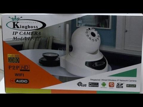 Kingboss IP-12 model C1 IP kamera kurulumu