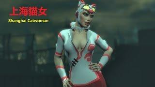 SKIN; Batman; Arkham City; Shanghai Catwoman