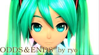 [60fps Full風] ODDS&ENDS - Hatsune Miku 初音ミク Project DIVA Arcade English lyrics Romaji subtitles PDA