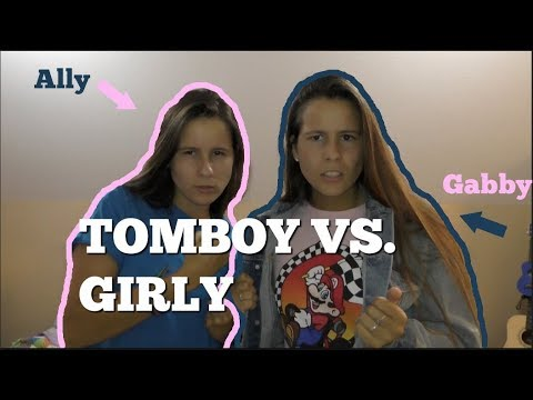 IDENTICAL TWINS SWITCH CLOTHES |Girly vs. Tomboy|
