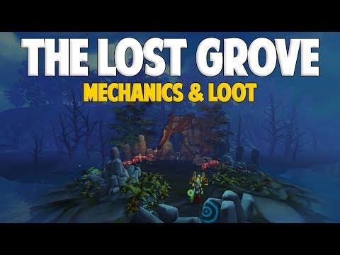Runescape 2017 | The Lost Grove - All Mechanics & Loot!