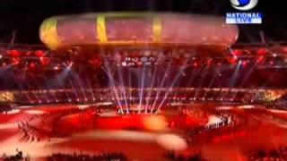 AR Rahman performance - CWG 2010 Opening Ceremony