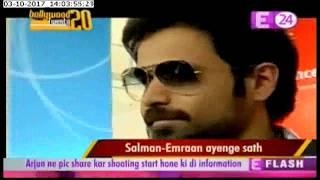 Emraan Hashmi joins Salman khan in Race3 ?