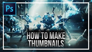 How To Make Attractive Thumbnails in Photoshop CC 2018