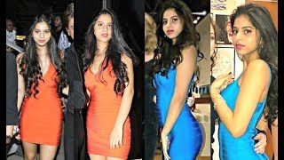 Shahrukh Khan Daughter Suhana Khan Repeats Her Same Dress With Different Colour!