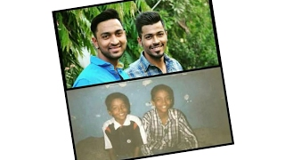 Viral Video of How Krunal Pandya and Hardik Pandya played when they were kids
