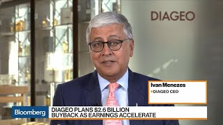 Diageo CEO on Share Buyback, Trade, Brexit, Warm Weather