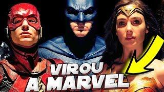 FILME LIGA DA JUSTIÇA A DC COMICS VIROU A MARVEL