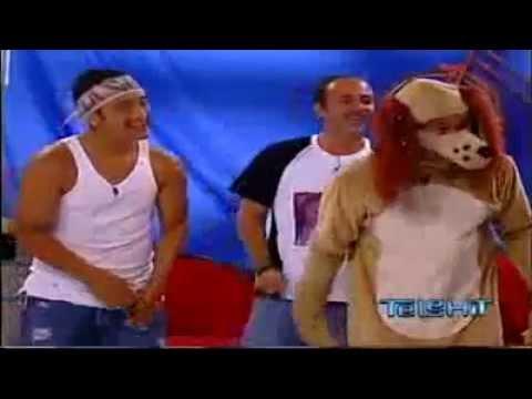 Guerra de chistes 36 de invitados La Gata y El Perro Guarumo del programa El Club.flv