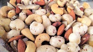 Dry Fruits Namkeen Recipe In Hindi - ड्राई फ्रूट्स नमकीन रेसिपी @ jaipurthepinkcity.com