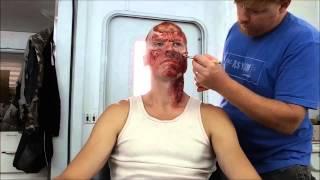 Z Nation Blaster Makeup