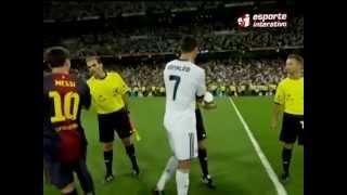 Cristiano Ronaldo e Messi evitam se cumprimentar e causam polêmica