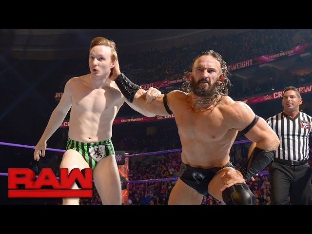 Gentleman Jack Gallagher vs. Neville: Raw, March 27, 2017