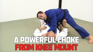 A Powerful Choke from Knee Mount with Denis Kang