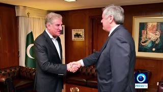 Russian special envoy in Pakistan to push Afghan peace