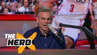 Chris Paul is a quitter says Bill Plaschke, should Lakers still pursue Paul George? | THE HERD