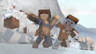 Minecraft: AVALANCHE NA MONTANHA  !! - Aventuras Com Mods #16