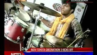 GREENATHON - LA PONGAL BAND PERFOMANCE - 2 (10) - NDTV HINDU