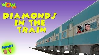 Diamonds In The Train - Motu Patlu in Hindi - 3D Animation Cartoon for Kids -As seen on Nickelodeon