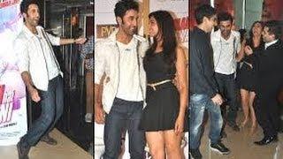 Sexy Hot Flirtatious Deepika Padukone Ranbir Kapoor@ Yeh Jawaani Hai Deewani First Look