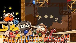 Multiplayer Mayhem!!! - Samurai Gunn