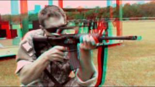 High Speed Camera Stereoscopic 3D Video - for red-cyan anaglyph glasses