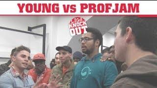 Liga Knock Out / EarBOX Apresentam: Young vs ProfJam (2ª Edição)