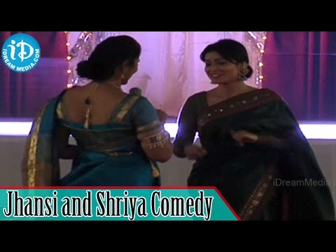 Jhansi and Shriya Saran Comedy - Womaania Ladies Night