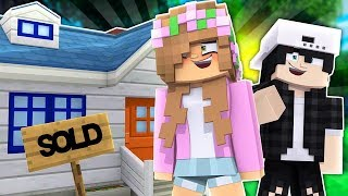 LITTLE KELLY AND RAVEN MOVE IN TOGETHER?! Minecraft Love Story