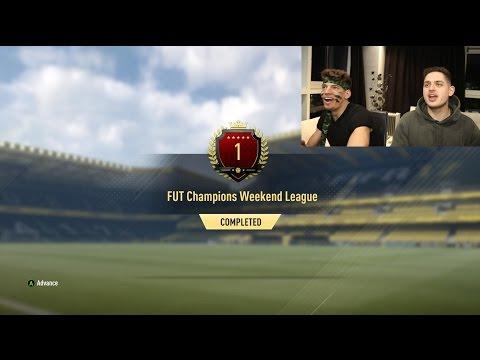 OMG TOP 1 IN THE WORLD FUT CHAMPIONS REWARDS!!! (Fifa 17 Ultimate Team)
