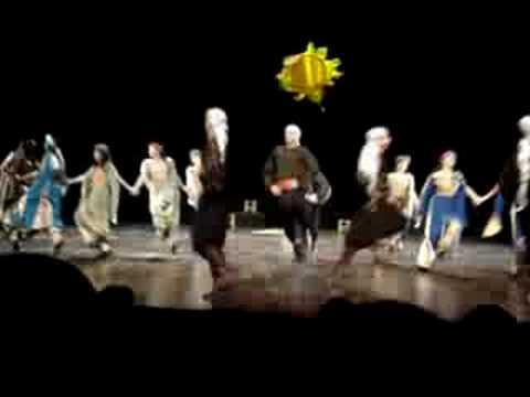 فرقة الفنون الشعبية الفلسطينية رقصة شمس أبو قذيلة