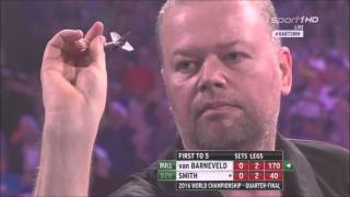 Raymond van Baneveld vs Michael Smith QF WC 2016