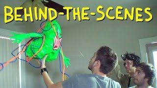 Ghostbusters Trap Slimer - Homemade (Behind The Scenes)