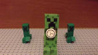 Creeper rap ending B---Lego Minecraft Stop motion