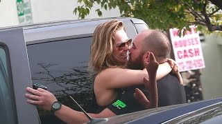 Ronda Rousey Packs on PDA With Boyfriend Travis Browne