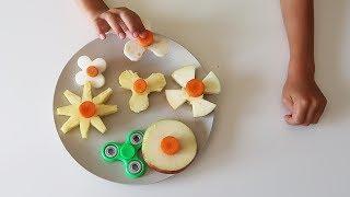 Edible Fidget Spinners - Fresh Healthy Veggie Spinner