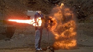 Massive Explosive Chain Reaction at 200,000fps - The Slow Mo Guys