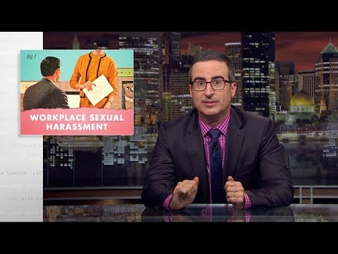 Xxx Mp4 Workplace Sexual Harassment Last Week Tonight With John Oliver HBO 3gp Sex