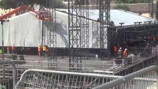 Concerto Rolling Stones Roma 2014 - Circo Massimo Chiuso