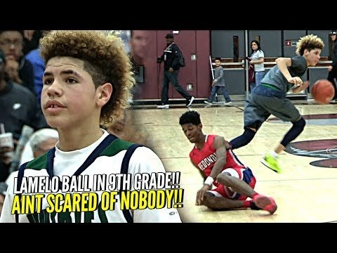 Xxx Mp4 LaMelo Ball In 9th Grade ONLY 13 Years Old Wasn T SCARED OF NOBODY The Baby Faced Assassin 3gp Sex