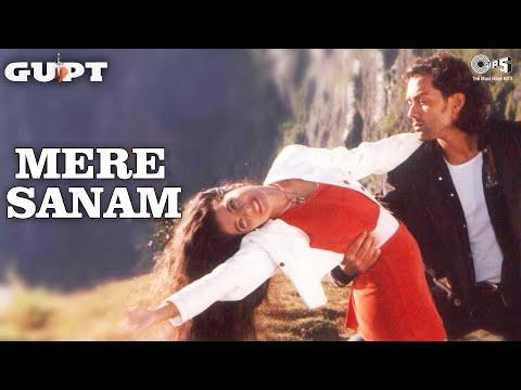Mere Sanam - Gupt   Bobby Deol & Kajol   Sadhana Sargam & Udit Narayan   Viju Shah