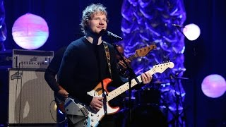 ed sheeran performs 39;thinking out loud39;