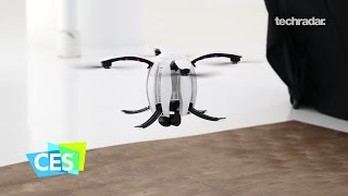 The PowerEgg Drone at CES 2017: An egg that flies