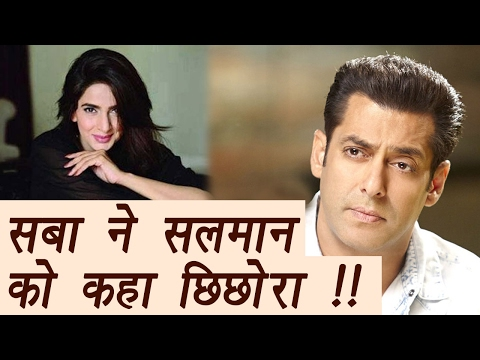 "Xxx Mp4 Pakistani Actress Saba Qamar Calls Salman Khan ""Chhichora"" FilmiBeat 3gp Sex"