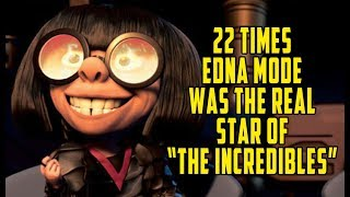 """22 Times Edna Mode Was The Real Star Of """"The Incredibles"""""""