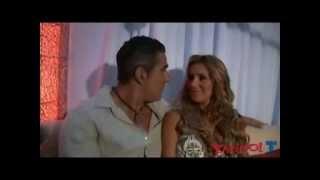Catherine Siachoque y Miguel Varoni) la primera vez que se vieron..
