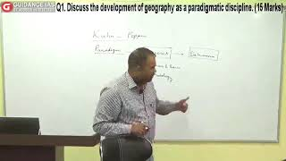PARADIGMATIC APPROACHES IN GEOGRAPHY